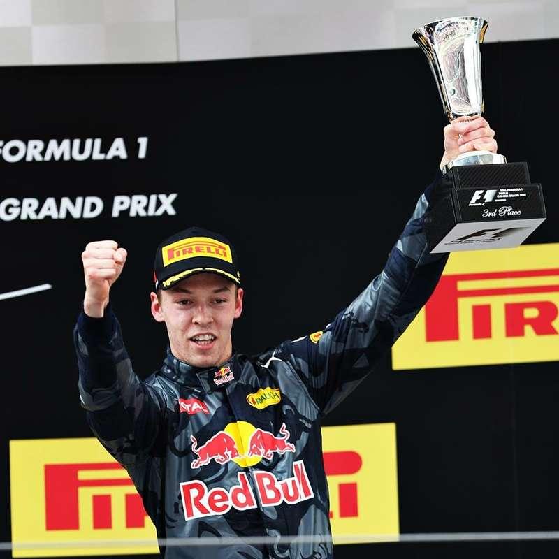 Даниил Квят, Red Bull Racing, Формула 1
