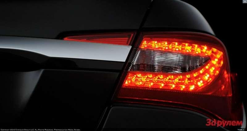 2011 Chrysler 200, LED