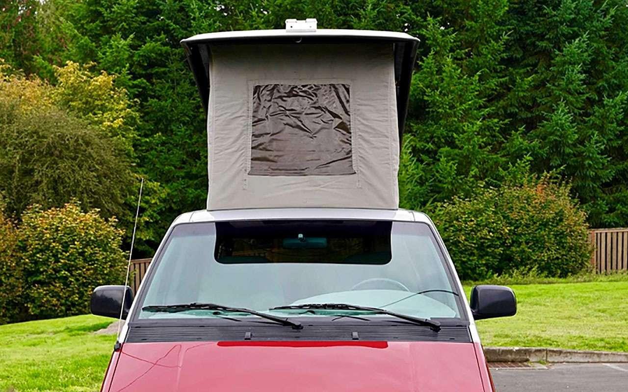 Ретрокемпер Ford: можно неплохо сэкономить