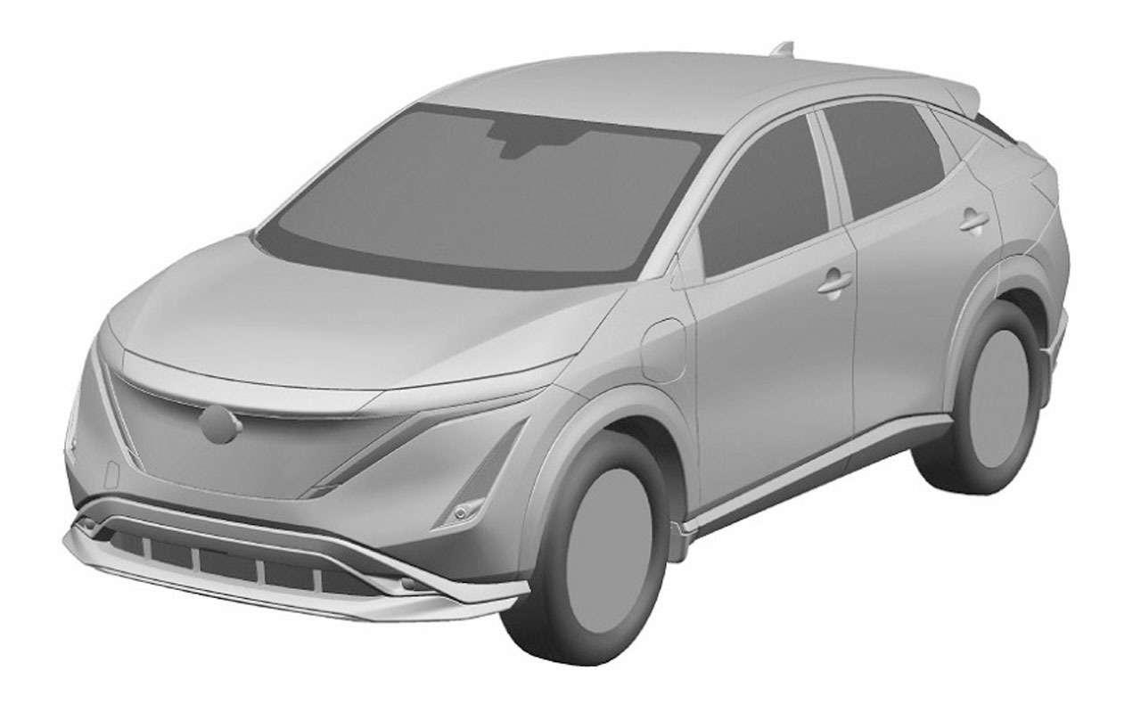 Nissan запатентовал новый кроссовер дляРоссии— фото 1195563