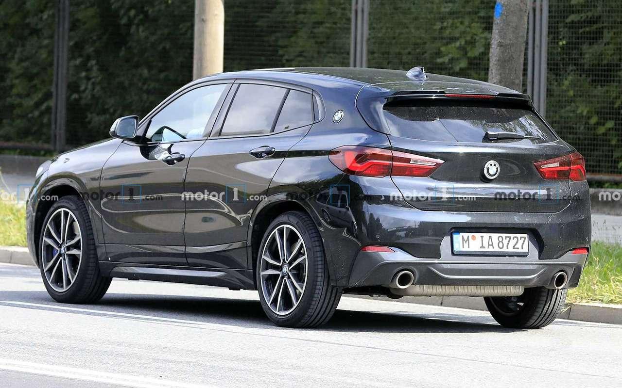 Обновленный BMW X2: фото без камуфляжа— фото 1172069