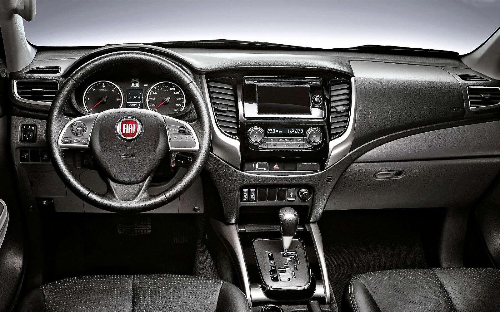 Интерьер Fiat Fullback