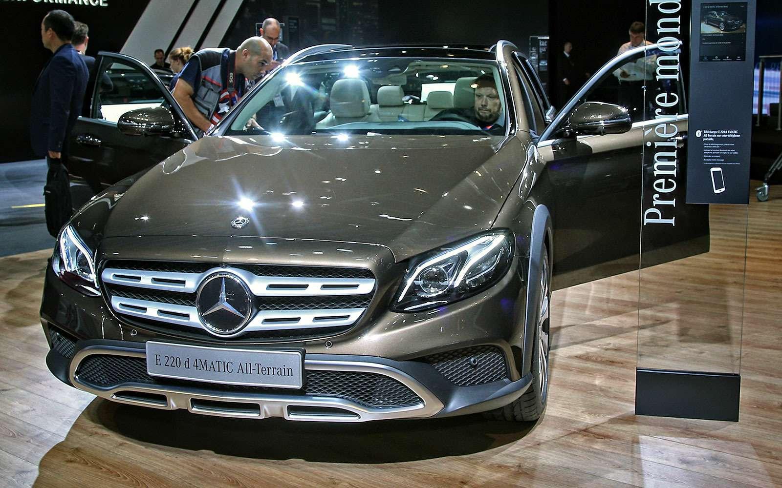 Небывалая «ешка»: вПариж приехал универсал Mercedes-Benz All-Terrain— фото 641649