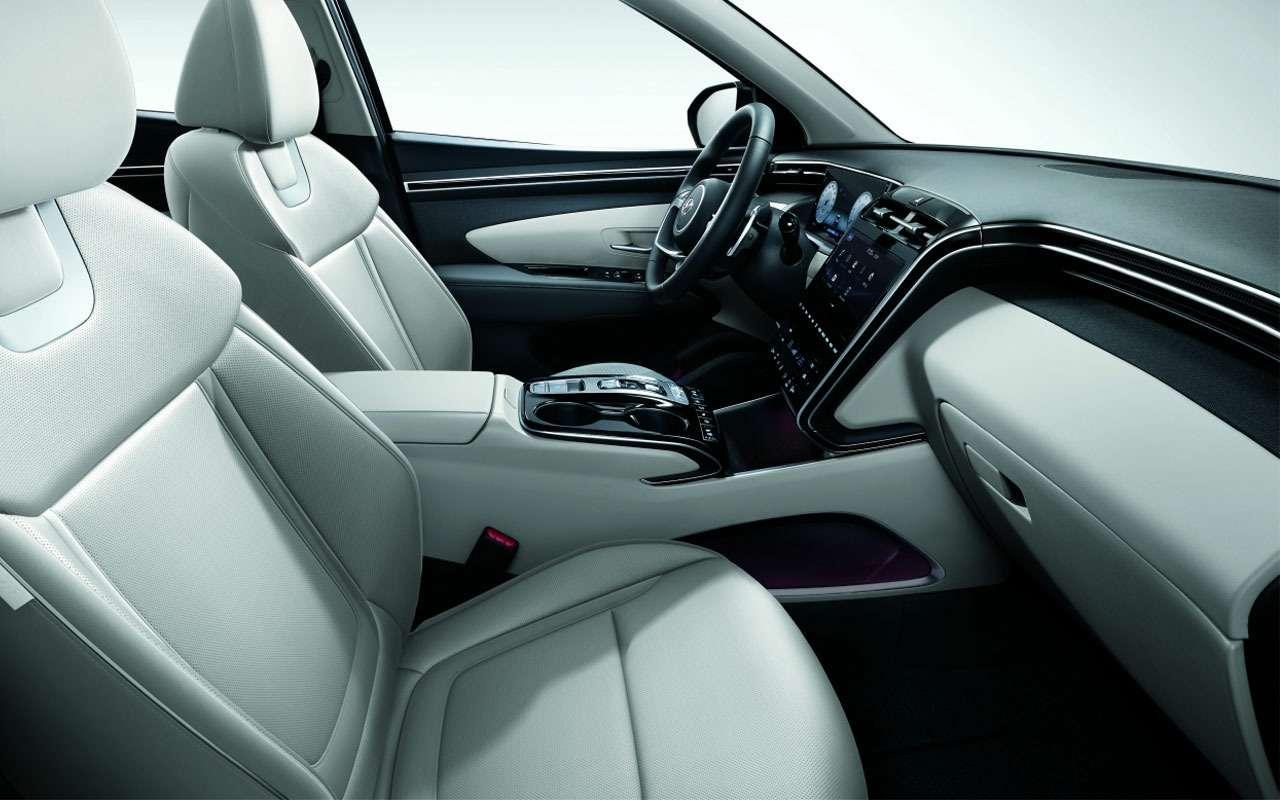 Новый Hyundai Tucson дляРоссии— названы цены— фото 1250649