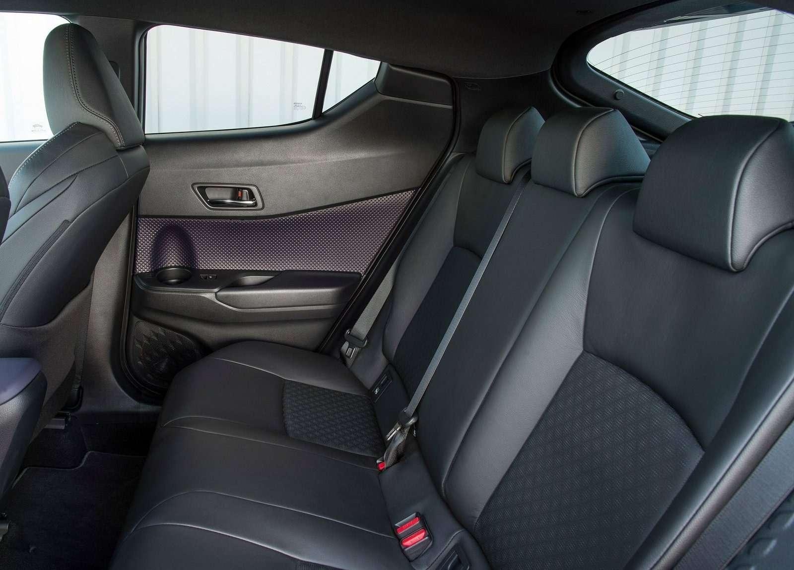 Toyota сертифицировала вРоссии кроссовер C-HR— фото 700289