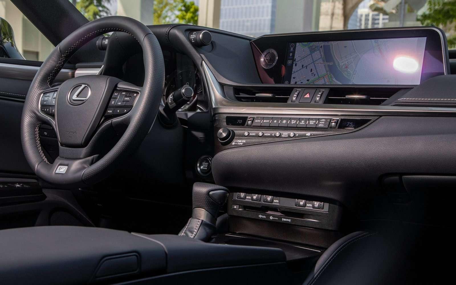 Почем входной билет впремиум? Lexus назвал российские цены нановый ES— фото 883765