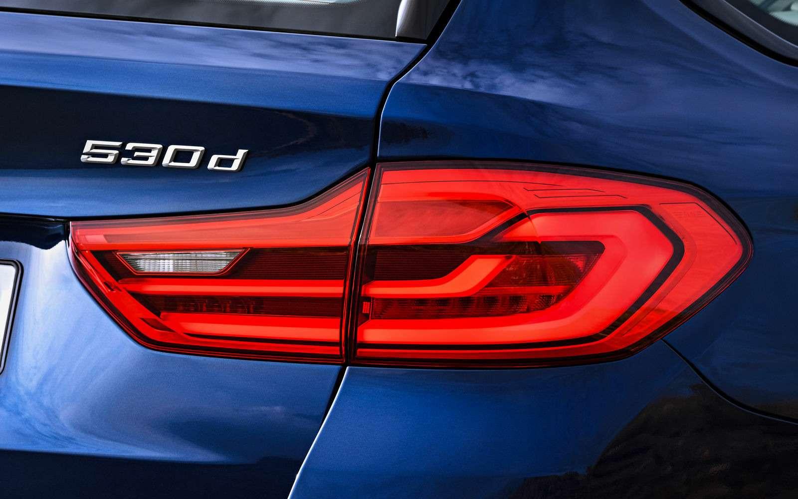 Новая «пятерка» BMW— теперь искузовом универсал— фото 701200