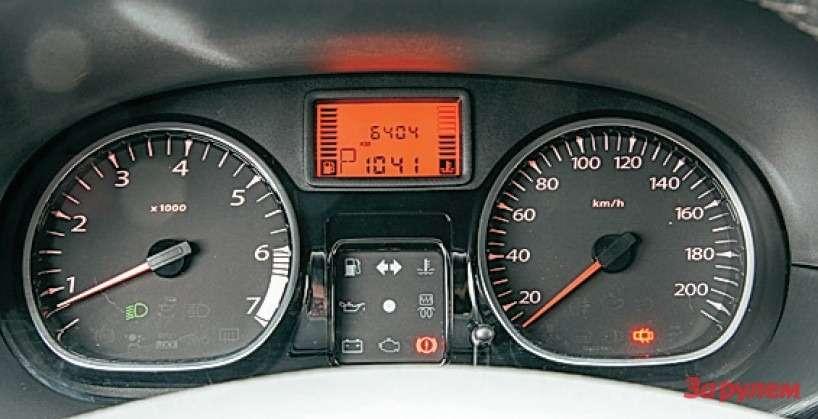 Renault Duster Инструментарий прост инагляден. Вам нужно что-то еще?