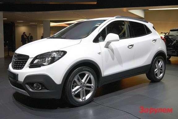 Opel Mokka side-front view 2