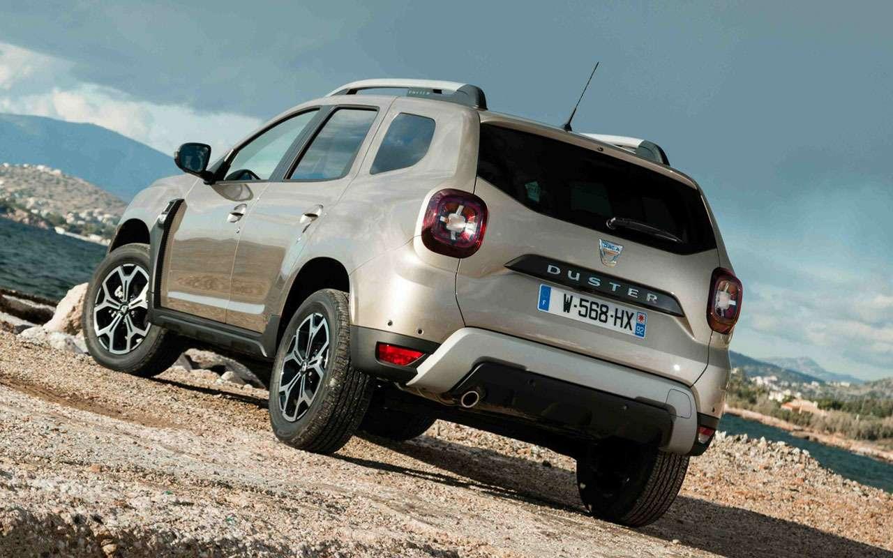 Новый Renault Duster: стали известны его сильные ислабые стороны— фото 977622