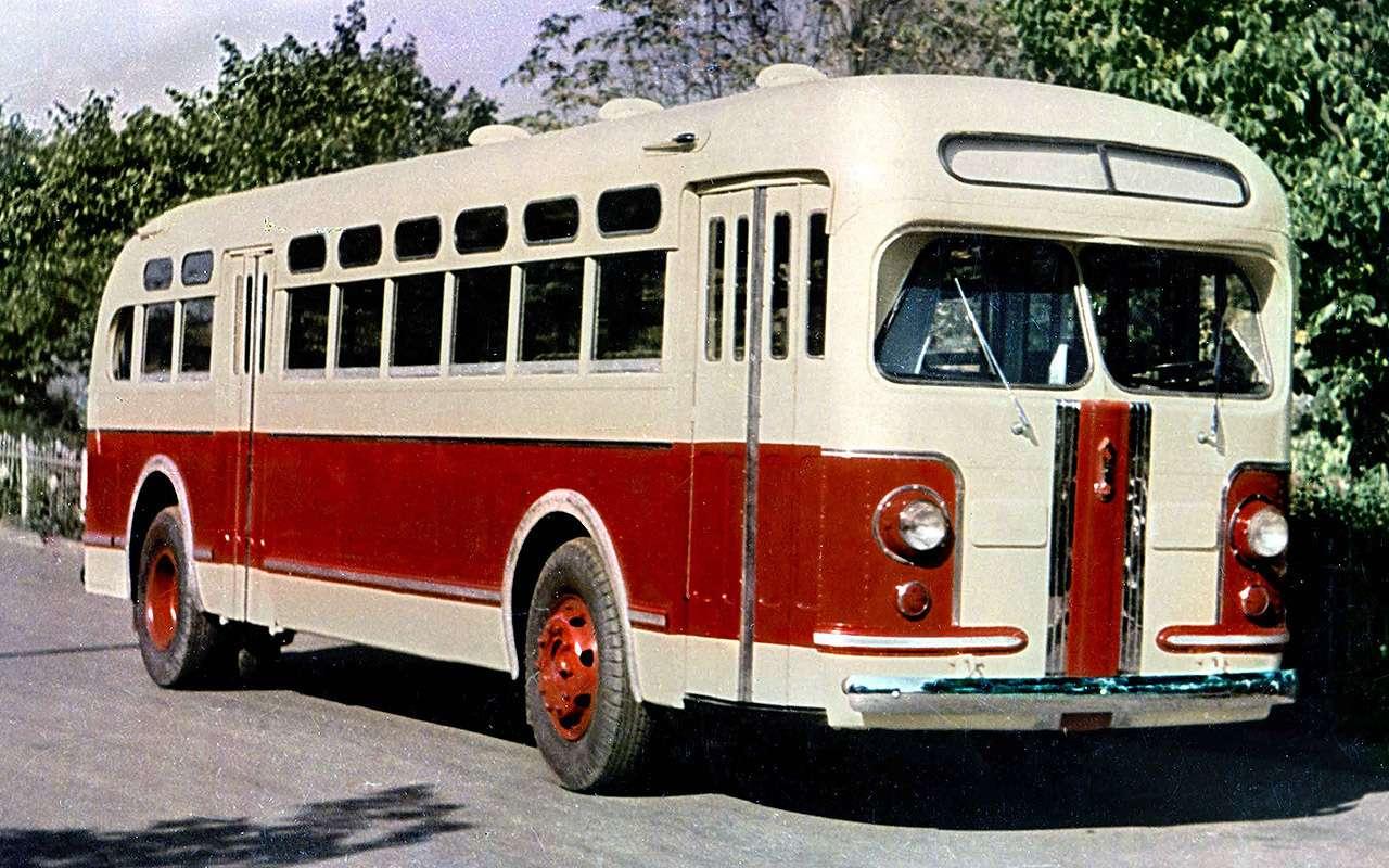 Советский гибридный автобус: заглянули вего родословную— фото 1232023