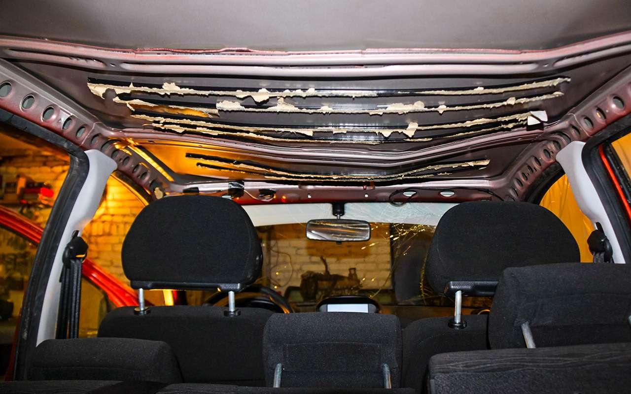 Бюджетный кузовной ремонт, или Как мывосстанавливали Калину после переворота— фото 901688
