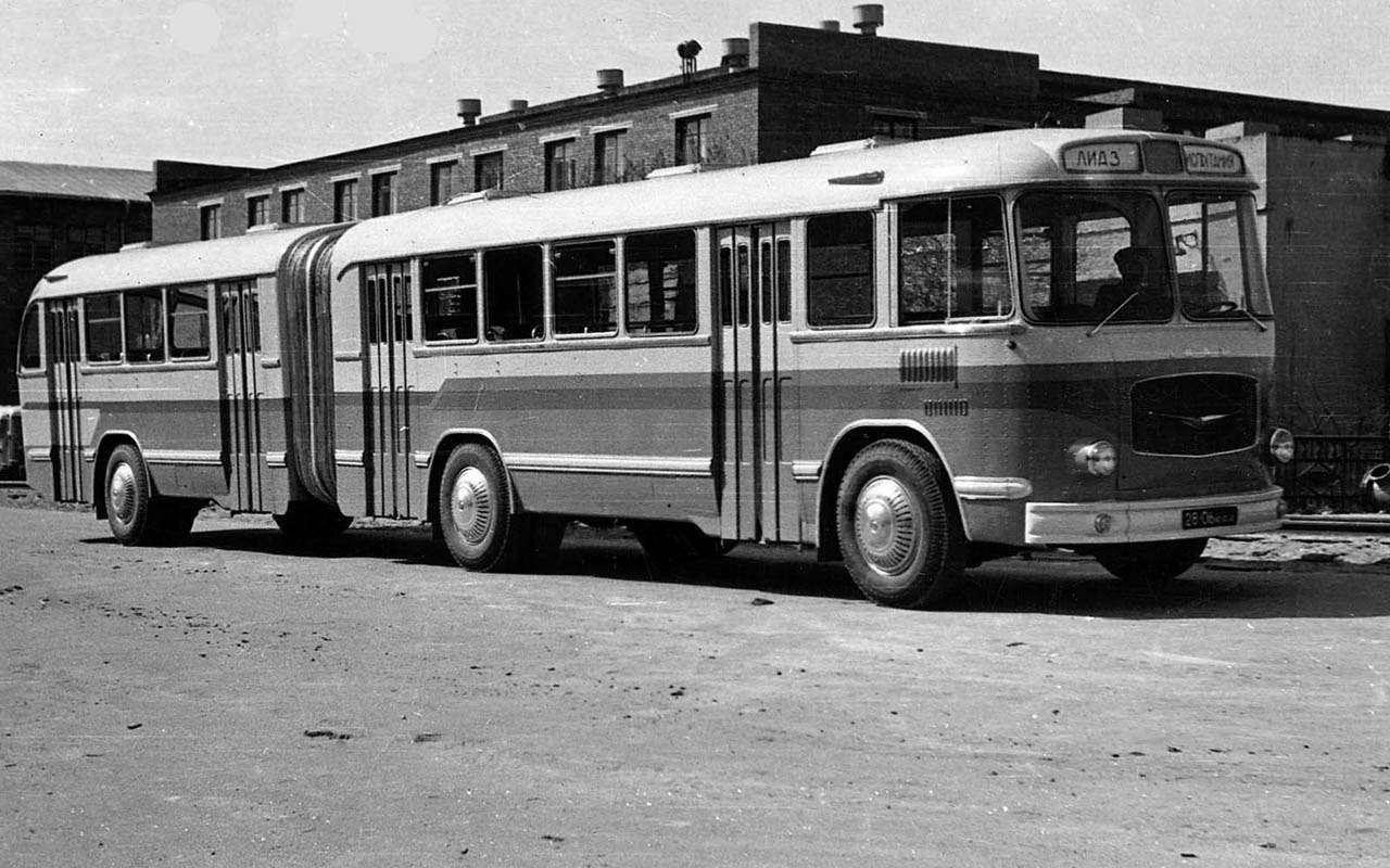 Автобусы изСССР— серийные иэкспериментальные— фото 1035347
