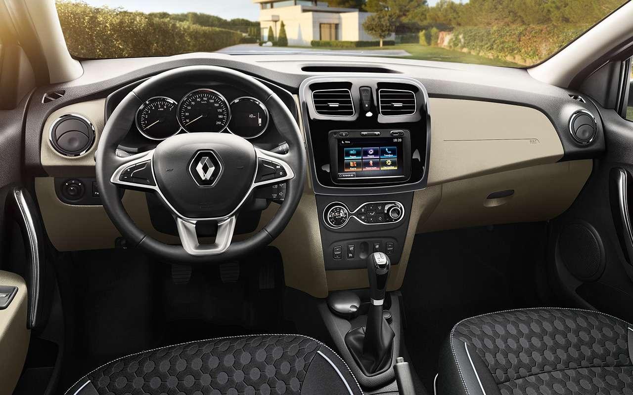 Renault рассказала обобновленных Logan иSandero. Цены уже известны— фото 886057