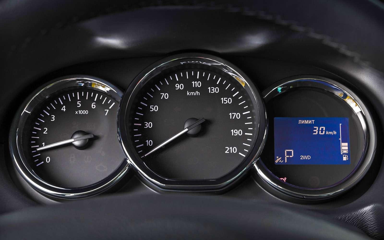 Обновленный Nissan Terrano— тест-драйв— фото 770706