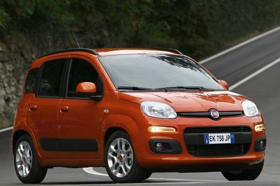Fiat Panda side-front view