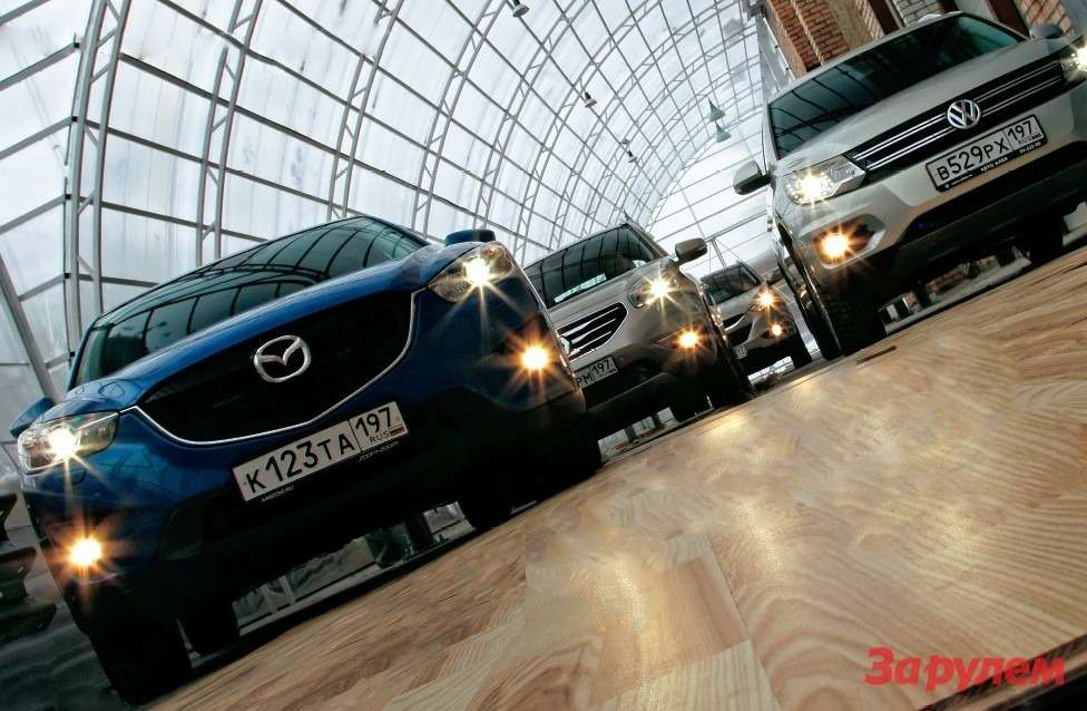 Hyundai ix35, Renault Koleos, Volkswagen Tiguan, Mazda CX-5