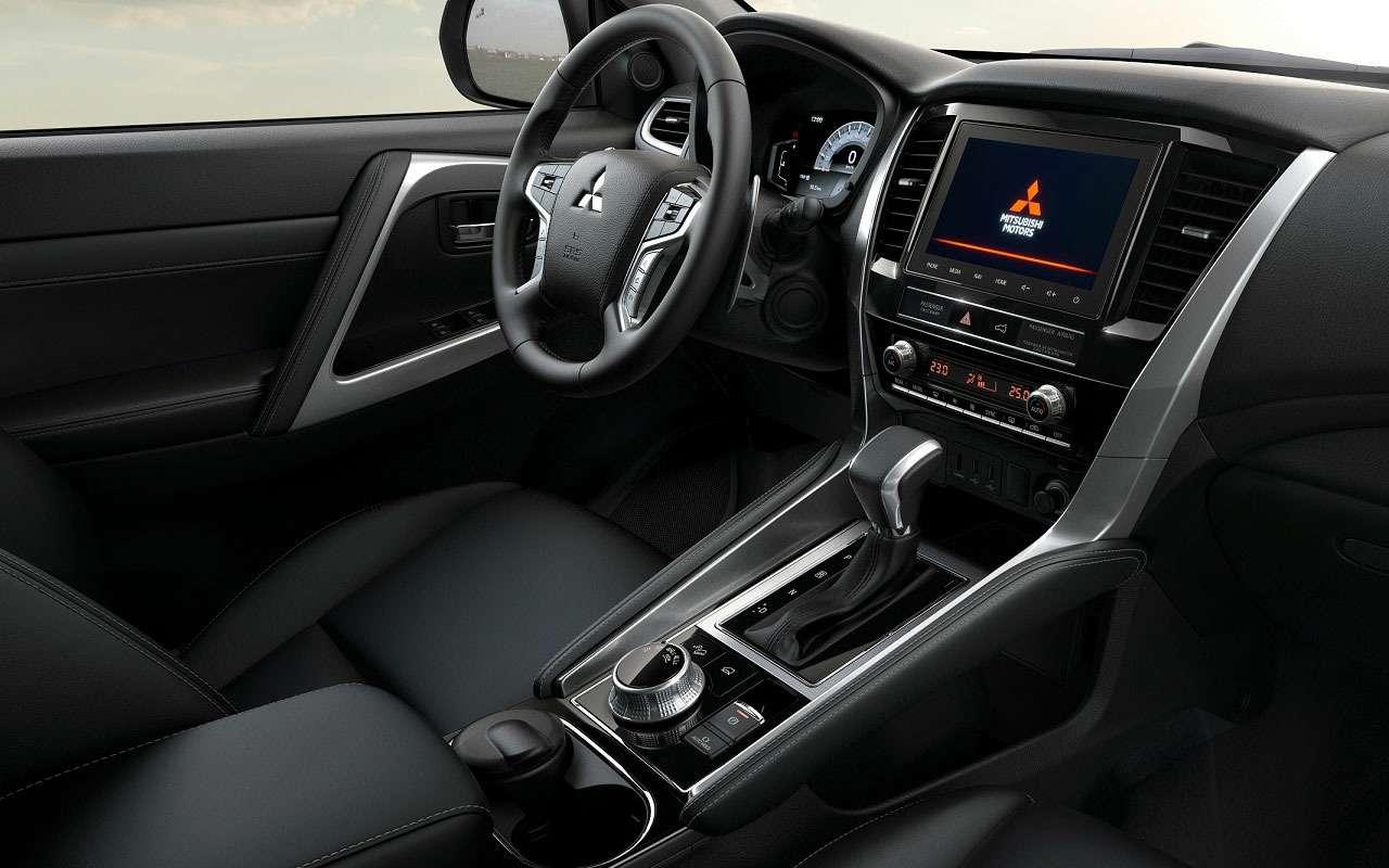 Всеособенности обновленного Mitsubishi Pajero Sport— фото 1226114