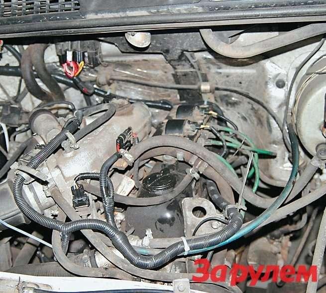 В дилерском центре «Газелям» заменили пучок проводов, питающих электрооборудование двигателя
