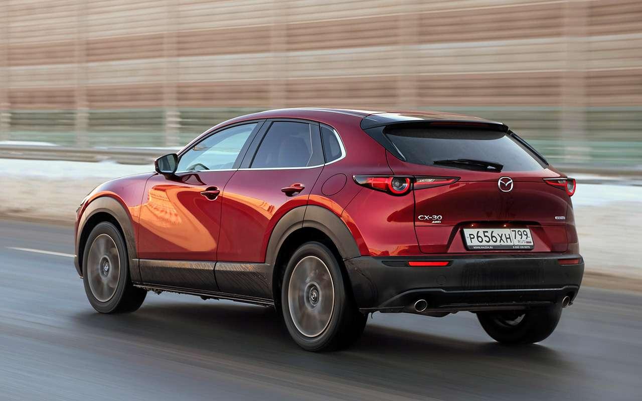 Mazda CX‑30, Skoda Karoq, Subaru XV: большой тест кроссоверов— фото 1238688