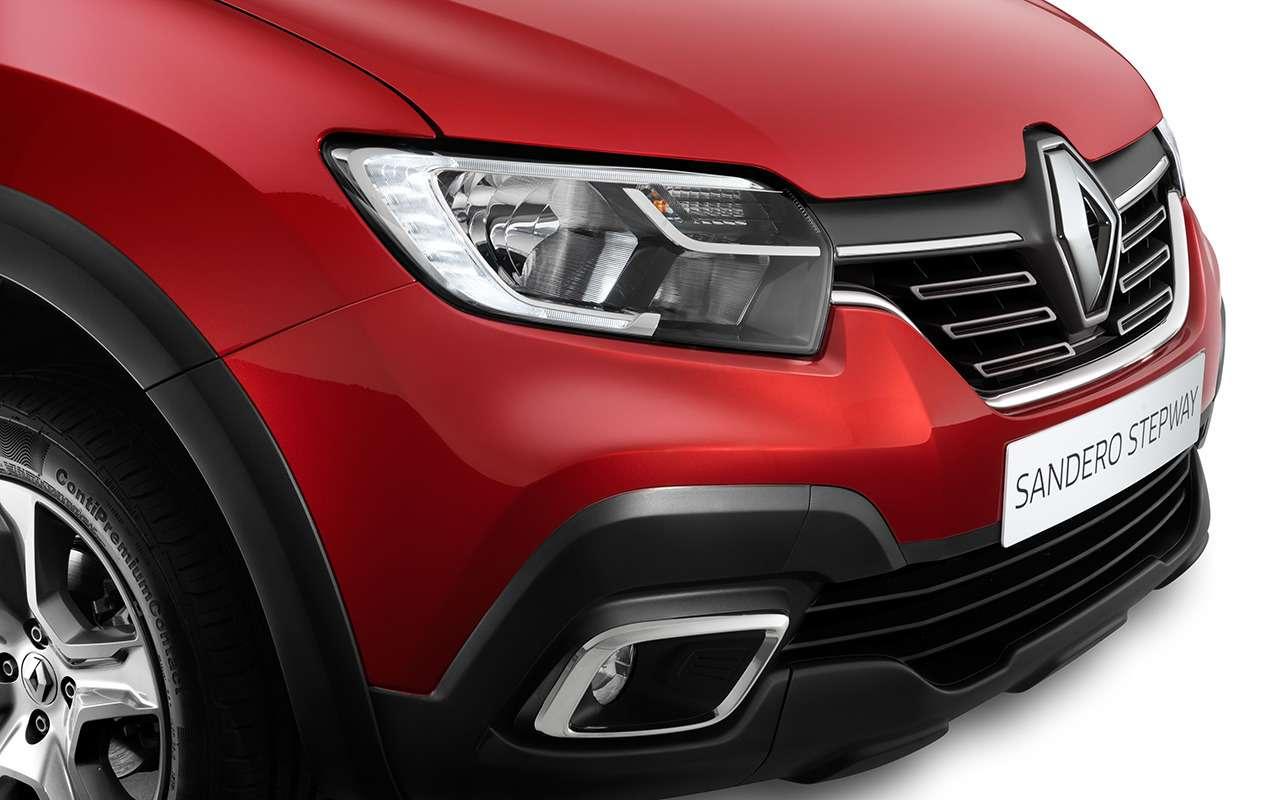 5 причин купить Renault Logan Stepway City свариатором— фото 922395