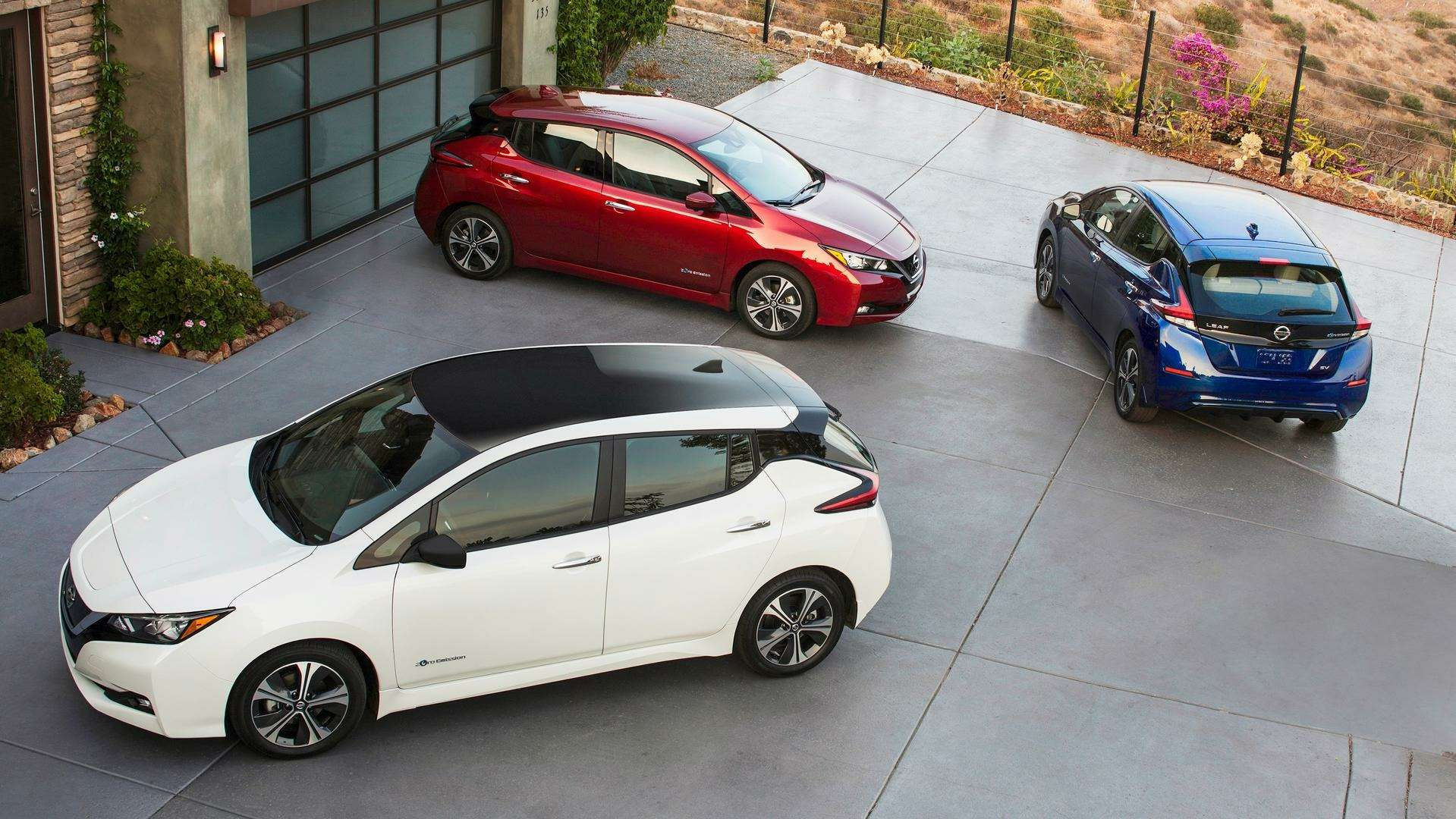 Nissan представил электромобиль дляРоссии— фото 791446
