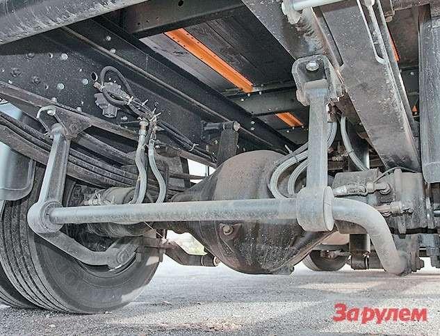 Безстабилизаторов поперечной устойчивости развозных грузовиков не бывает