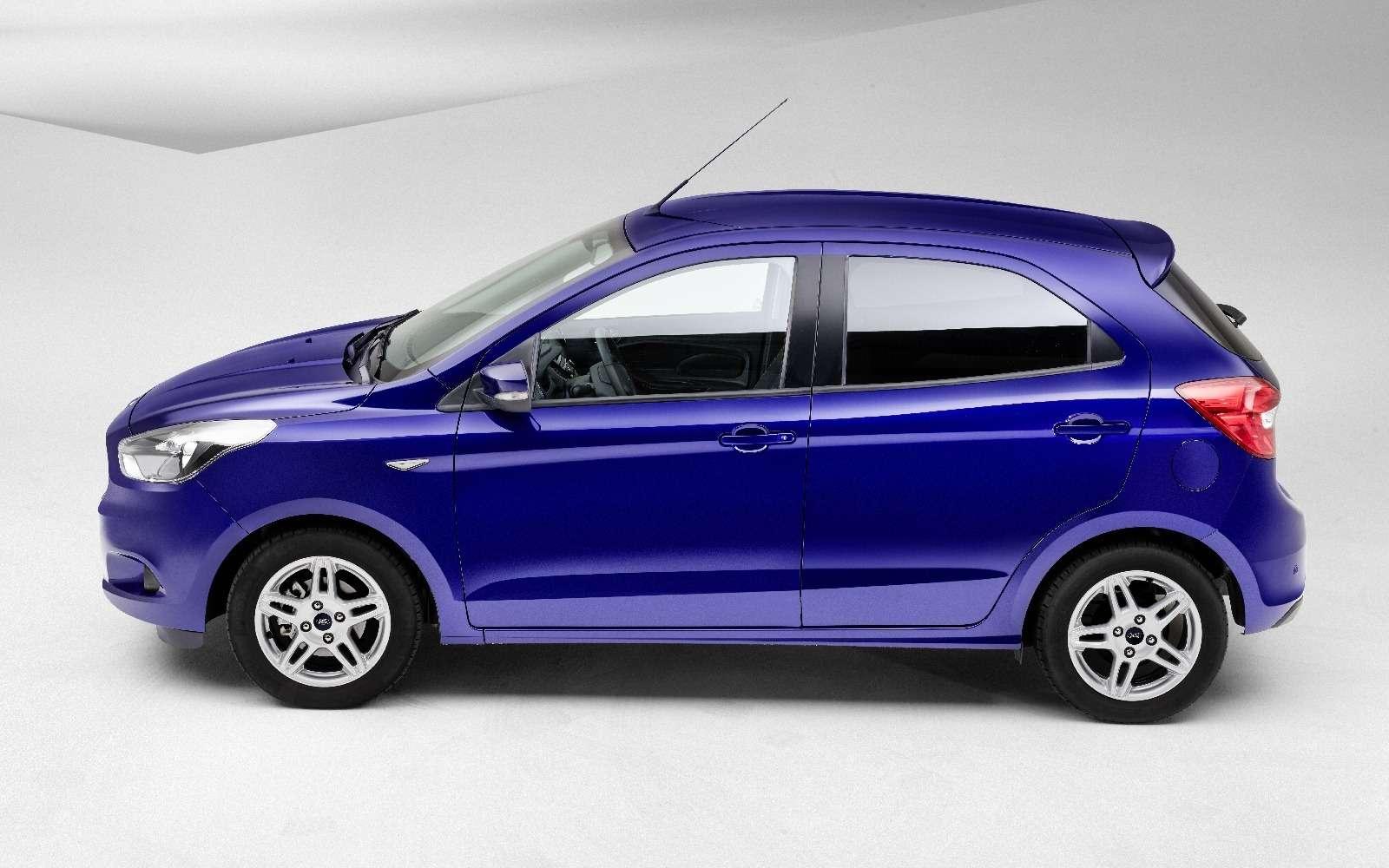 Ford предложил европейцам Фигу сплюсом— фото 596403