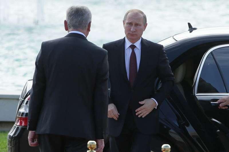 Официальный визит президента РФВ.Путина вСербию