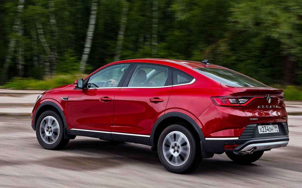 Renault Arkana, Nissan Qashqai, Kia Sportage: проверка бездорожьем иасфальтом— фото 1009905