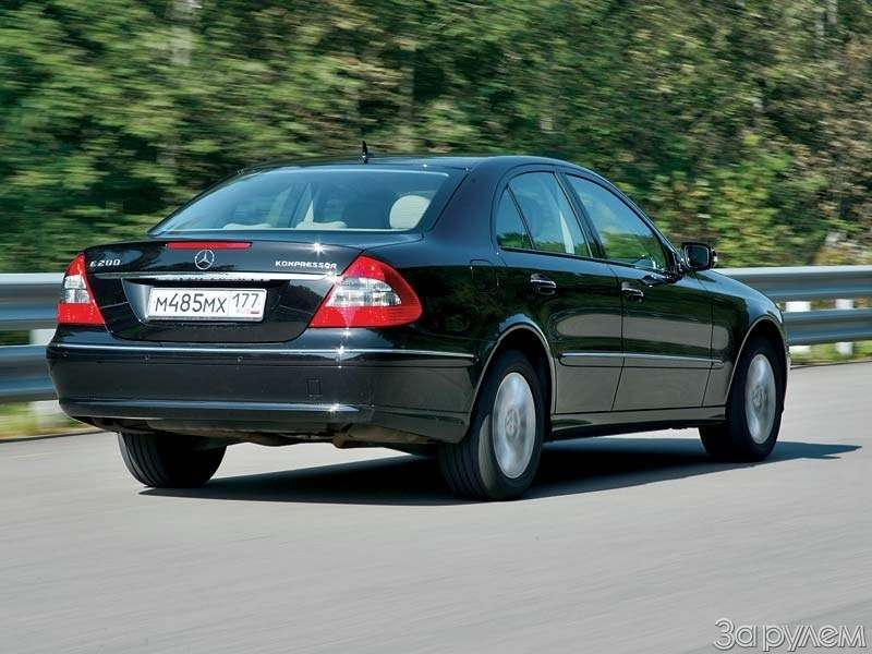 Тест Citroen C6, Honda Legend, Volvo S80, Mercedes-Benz E.НАЧЕМ ПОЕХАТЬ ВРИГУ?— фото 68752