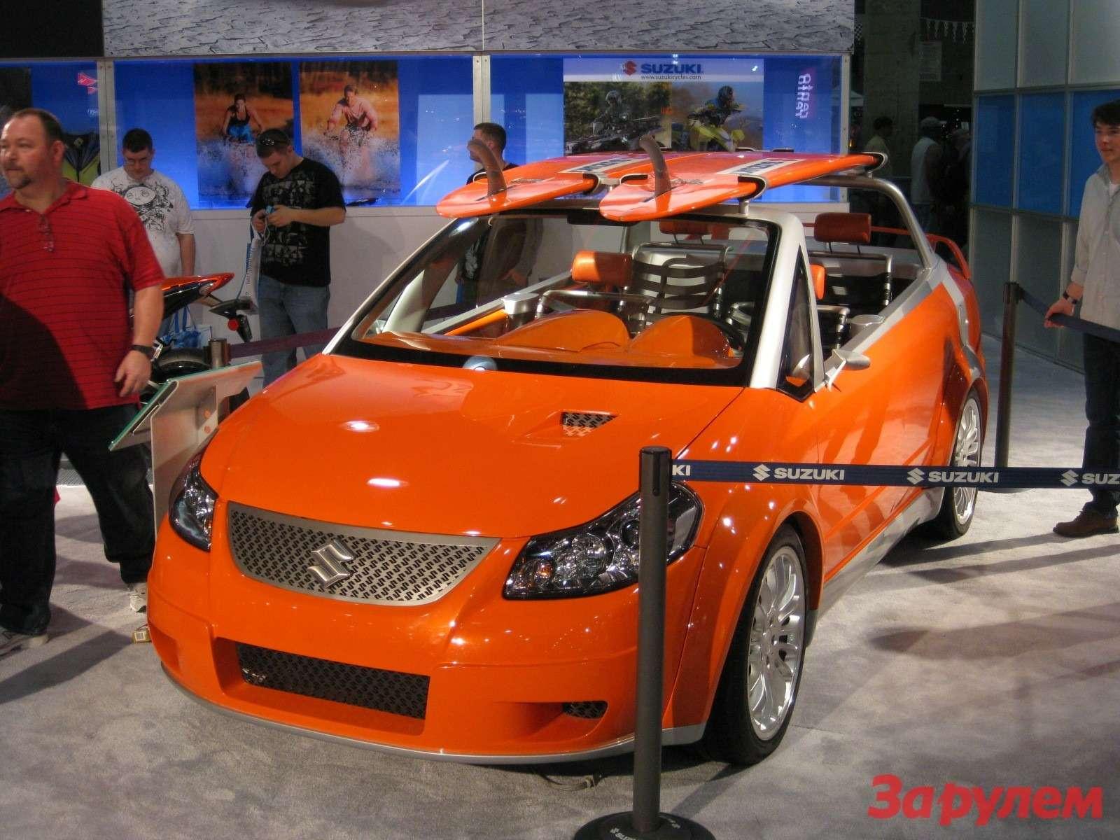 Пляжный вариант— Suzuki Makai.