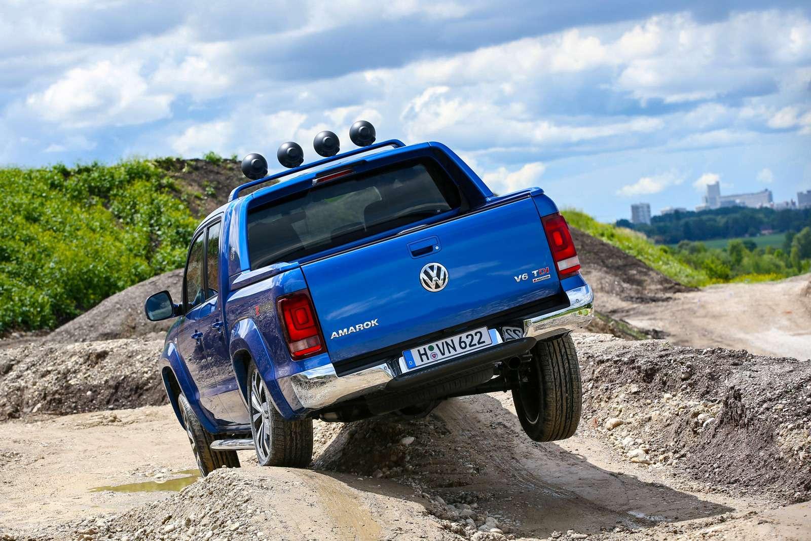 Volkswagen Amarok V6Aventura: всё включено— фото 616524