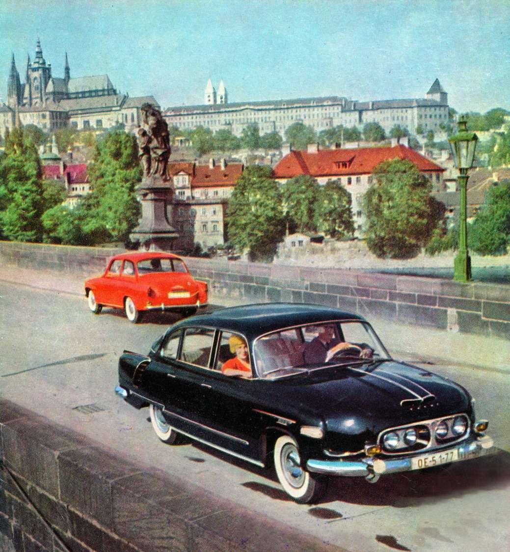 3Иллюстрация собложки известного всем автомобилистам СССР журнала «Чехословацкое мотор-ревю»