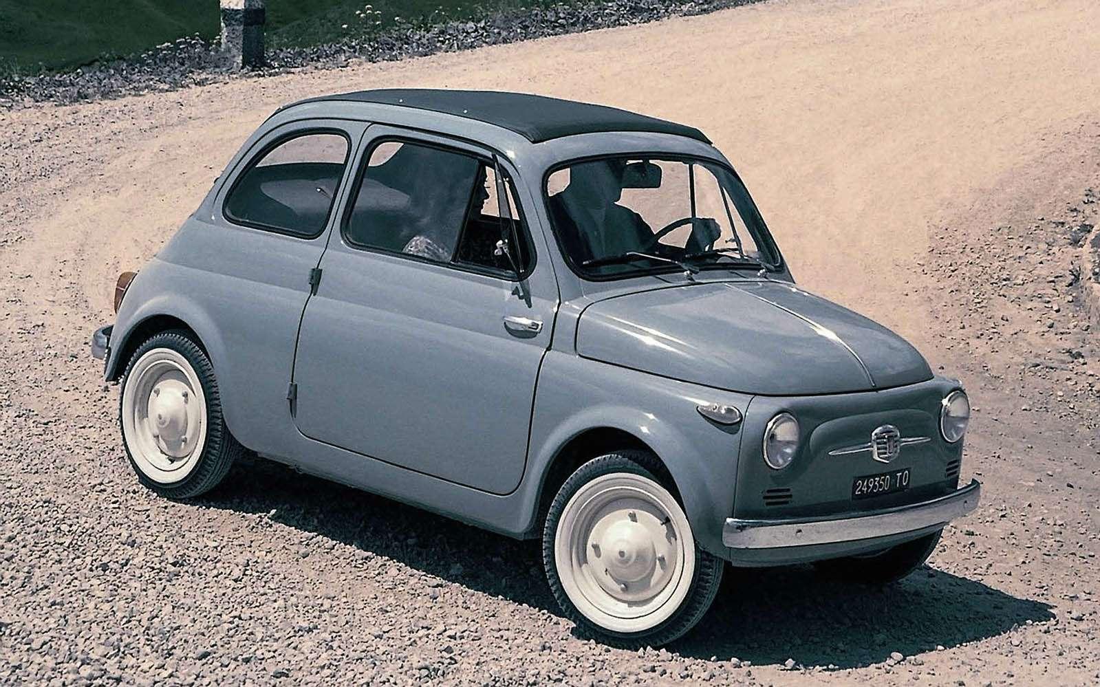 Fiat Nuova 500, 1957-1975