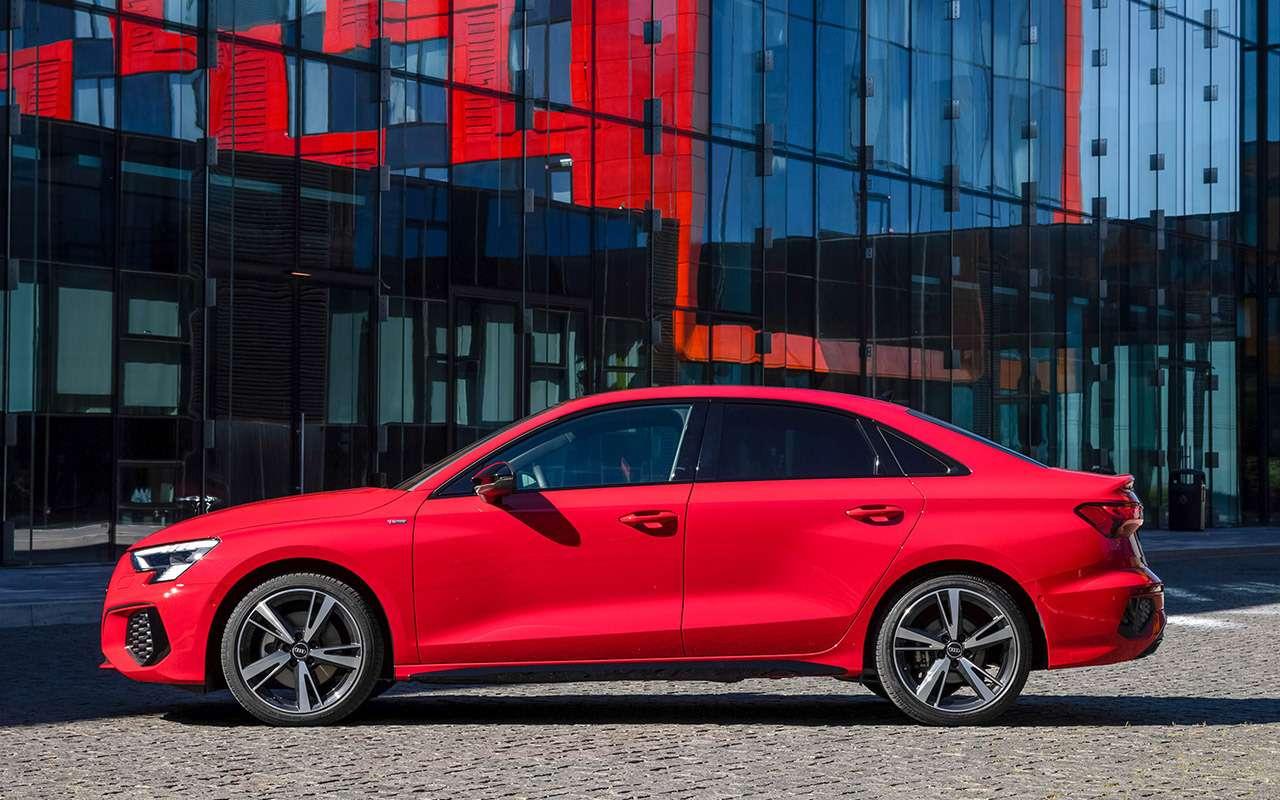 Новый Audi A3: вам седан или Sportback?— фото 1272058