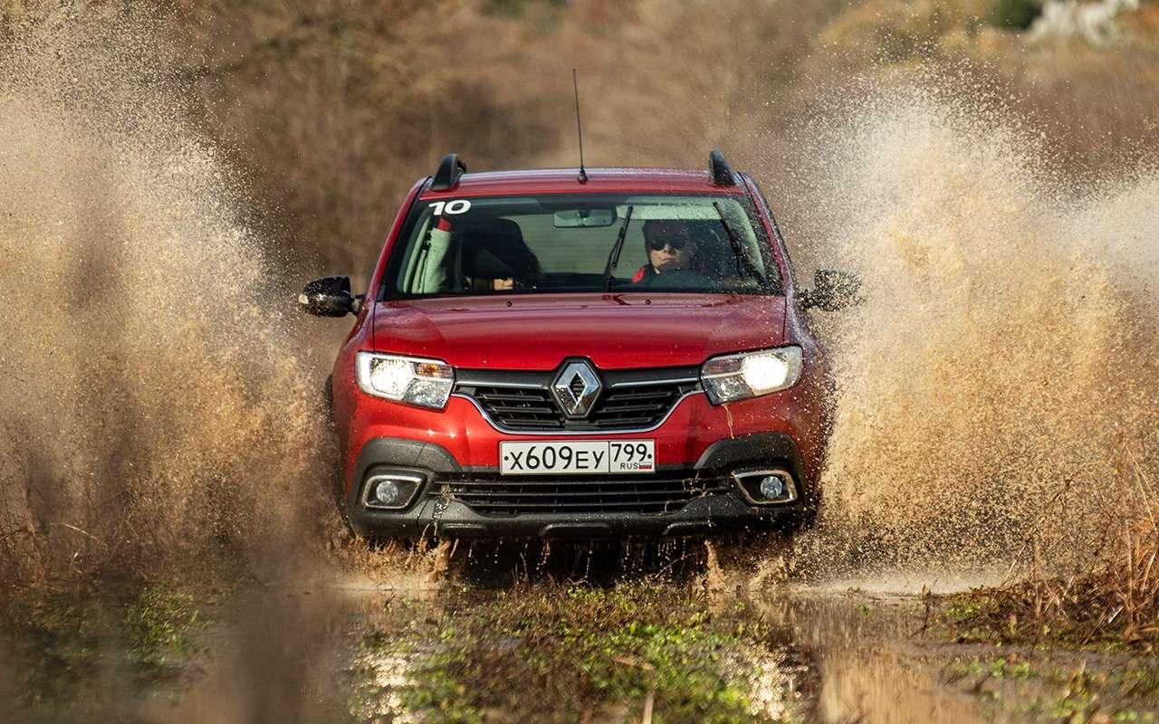 Кросс-седан Renault Logan Stepway: впоисках оптимальной комплектации— фото 940382