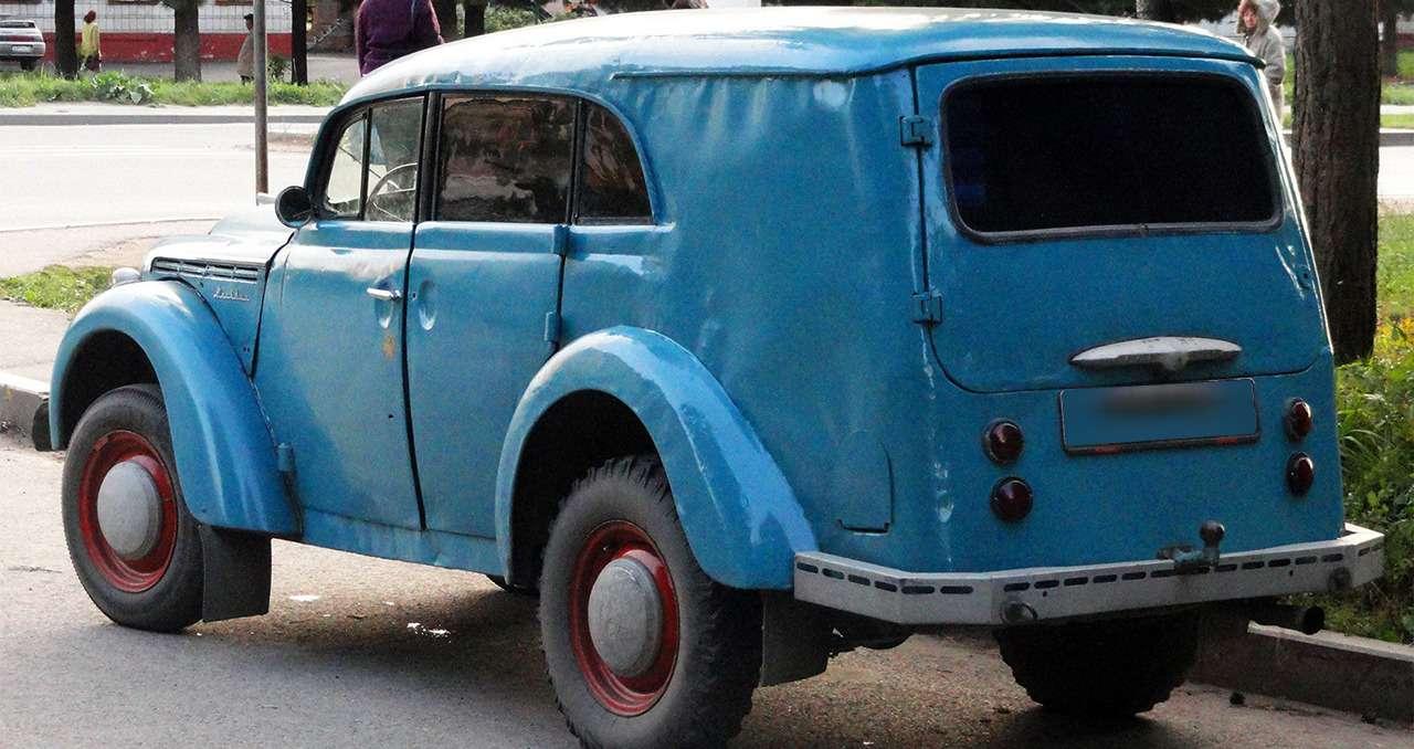 Так переделывали авто только в СССР: 12 примеров - фото 1167635