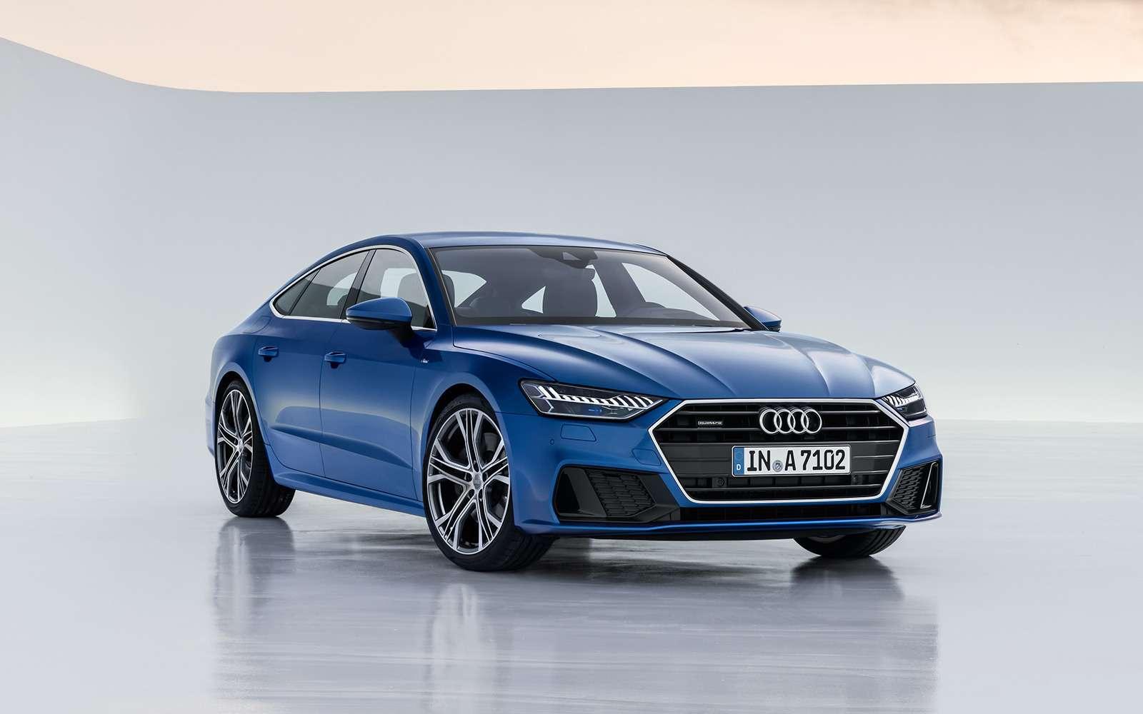 Новая Audi A7Sportback— вся насенсорах— фото 807134