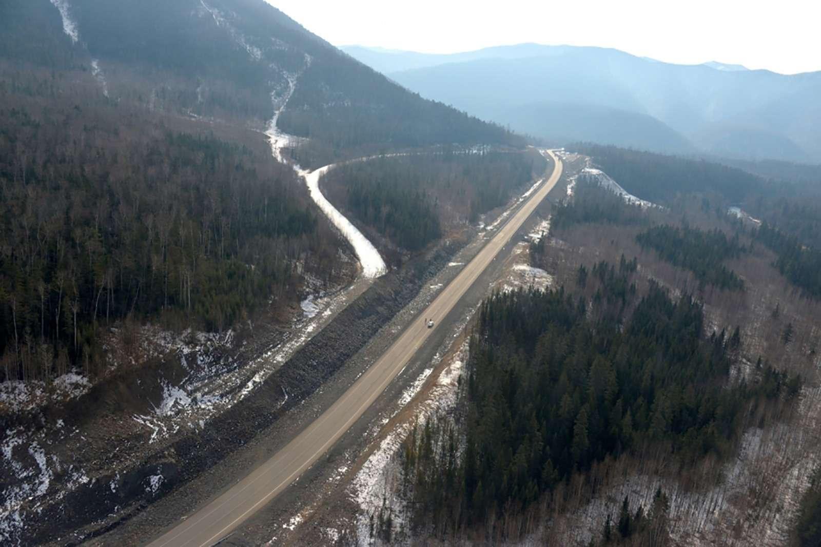 В Хабаровском крае доделали дорогу, которую строили 20лет— фото 811213