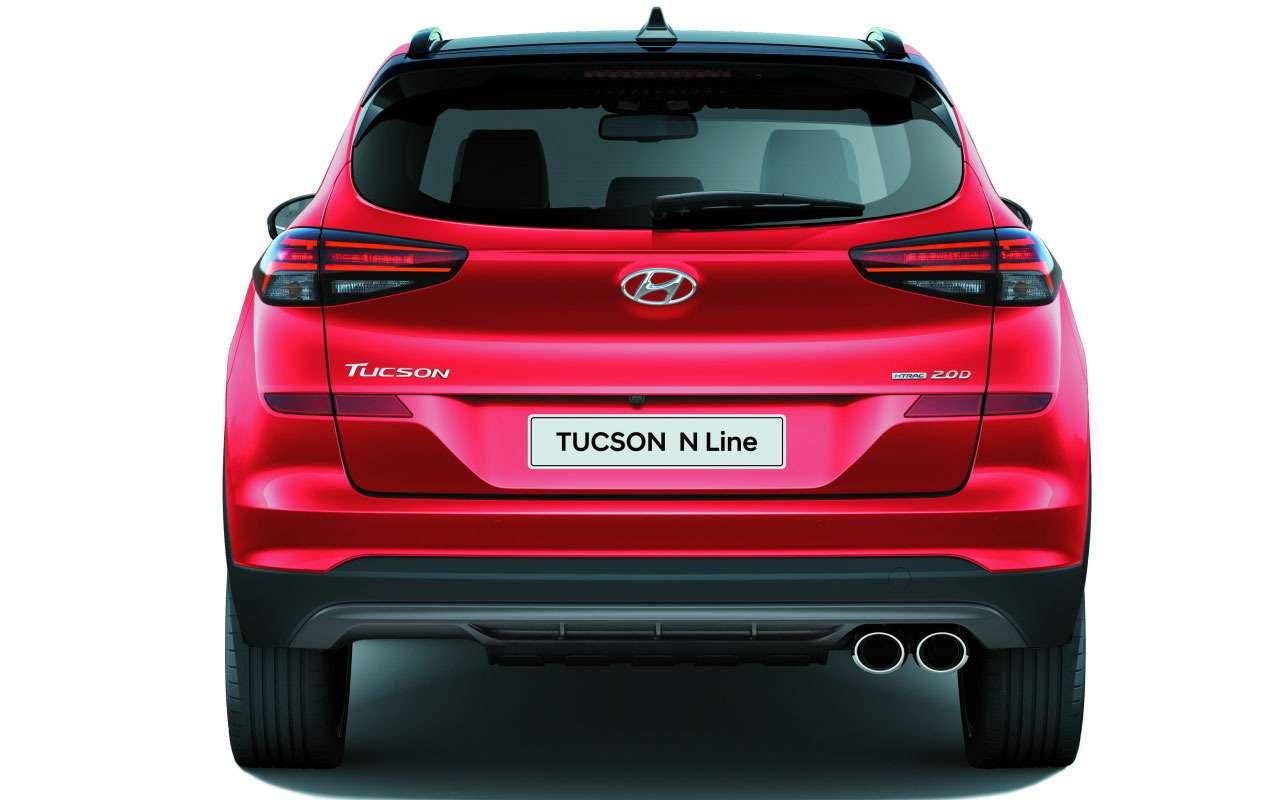 Hyundai привезла вРоссию спортивный кроссовер— фото 1093158