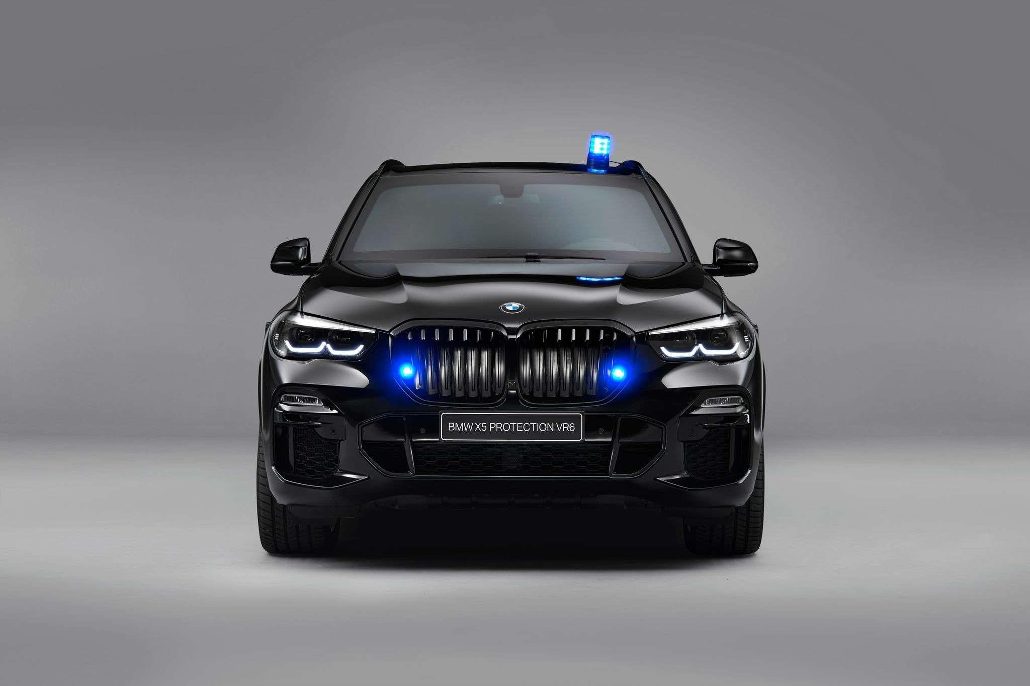 ДляРоссии иАфрики: новый бронированный BMW X5— фото 994338