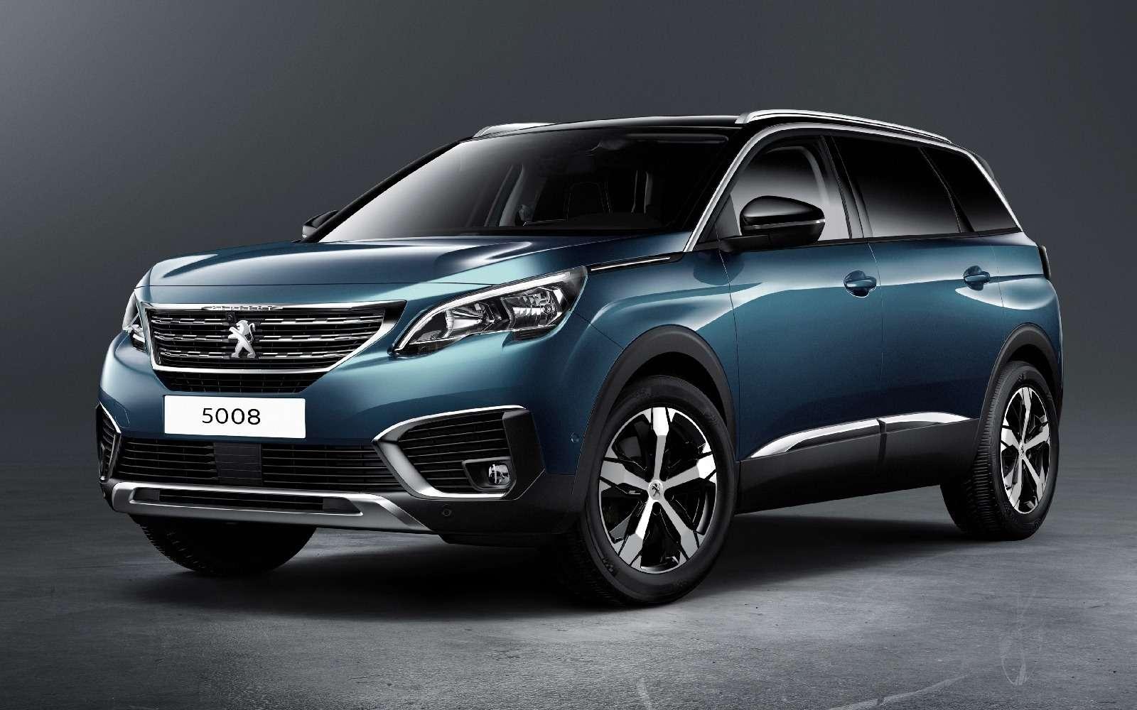 Завышенная самооценка: Peugeot 5008 превратился вкроссовер— фото 631350