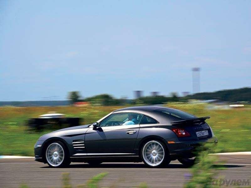 Дневник Chrysler Crossfire SRT-6: Наработу— согоньком— фото 90586