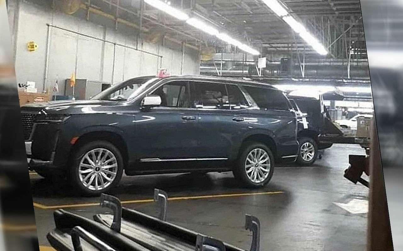 Новый Cadillac Escalade— первые фото сзавода— фото 1021636