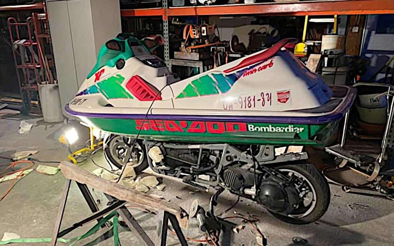 Сухопутный гидроцикл— самый странный Suzuki— фото 1158621
