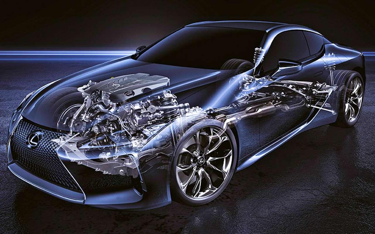 Lexus LC500— тест-драйв ЗР— фото 805885