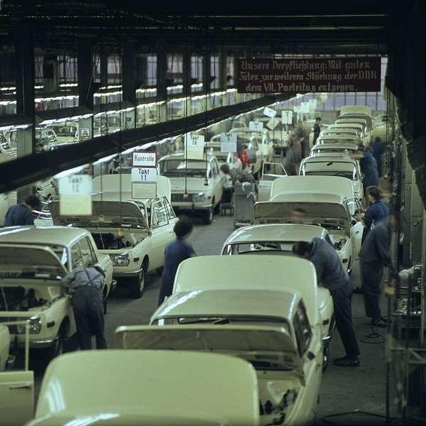 Главный конвейер, 1960-е годы.
