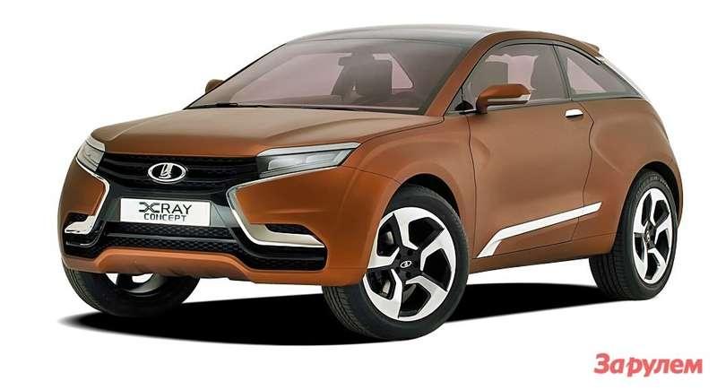 Lada XRay Concept 2012