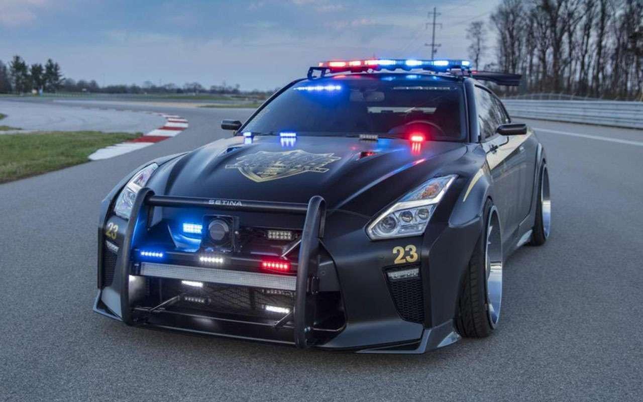 Топ-22 лучших ихудших полицейских автомобилей мира— фото 983548